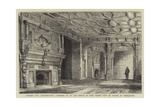 Ancient City Architecture, Interior of an Old House in Lime Street Now in Course of Demolition Giclee Print by Henry William Brewer