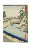 Outer Sakurada, 1859-1862 Giclee Print by Hiroshige II