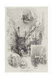 Historic Windsor, Sketches of the Castle Giclee Print by Herbert Railton