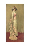 Harmony in Pink and Grey: Lady Meux, 1881 Giclee Print by James Abbott McNeill Whistler