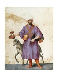 Turkish Shepherd with Sheep Giclee Print by Jacopo Ligozzi