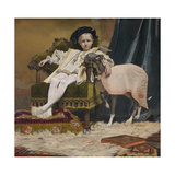 The Emperor Charles V as a Child, 1879 Giclee Print by Jan van Beers
