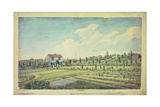 William Curtis's Botanic Gardens, Lambeth Marsh, C.1787 Giclée-tryk af James Sowerby