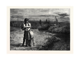 Fair Helen of Kirkconnel, in the Exhibition of the Royal Academy 1869 Giclee Print by James Archer