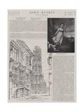 John Ruskin Giclee Print by James Northcote