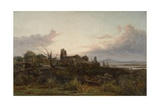 The Deserted Village (Goldsmith's) Giclee Print by James Holland