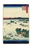 Actual View of Mastushima, Oshu Province, June 1859 Giclee Print by Hiroshige II