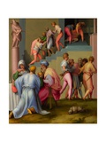 Pharaoh with the Butler and Baker Giclée-tryk af Jacopo Pontormo