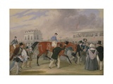 The Derby Pets: the Winner, 1842 Giclee Print by James Pollard