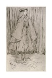 Annie Haden, 1860 Giclee Print by James Abbott McNeill Whistler