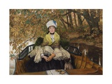 Waiting Giclee Print by James Jacques Joseph Tissot
