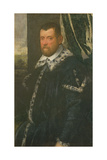 Battista Morosoni (1537-98), High Procurator Giclee Print by Jacopo Robusti Tintoretto