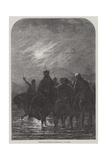 The Night March Giclee Print by James William Glass