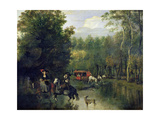 The Ford Giclee Print by Jan Siberechts