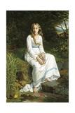 Ophelia Giclee Print by Jan Portielje