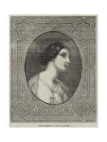The Madonna Giclee Print by Hippolyte Delaroche
