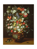 Still Life of Flowers in a Vase Giclee Print by Jan Brueghel the Younger