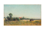 In the Fields, France, 1882 Giclee Print by Ivan Pokitonov
