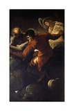 The Evangelists Luke and Matthew, 1557 Giclee Print by Jacopo Tintoretto
