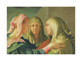The Visitation, 1528-30 Giclee Print by Jacopo Pontormo