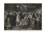 Returning from the Pantomime, the Last Train Giclee Print by J.M.L. Ralston
