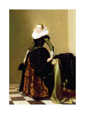 Portrait of a Lady (Panel) Giclee Print by Jan Miense Molenaer