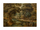 Landscape Giclee Print by Jan Siberechts