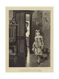 My First Sitting, a Shy Sitter Giclee Print by Horace Henry Cauty