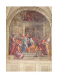 The Visitation, from the Cloister, 1516 Giclée-tryk af Jacopo Pontormo