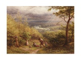 The Last Gleam, 1872 Giclee Print by James Thomas Linnell