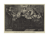 Ben Jonson at the Devil Tavern, Introduction of Randolph Giclee Print by J.M.L. Ralston