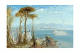 The Bay of Naples, 1876 Giclee Print by James Webb