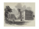 New Wing of Osborne House, Isle of Wight Giclee Print by James Herring