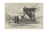 Sketch at the Fair, Old Cairo Giclee Print by James Shaw Crompton