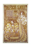 Delftsche Slaolie, Advertising Poster for Salad Dressing, 1895, by Jan Toorop (1858-1928) Giclee Print by Jan Theodore Toorop