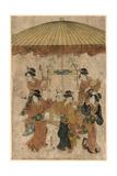 Sumiyoshi Odori Giclee Print by Hosoda Eishi