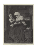 Reading to the Convalescent Giclee Print by Hermann Kaulbach
