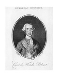 José Moñino, Count of Floridablanca Giclee Print by J.m. Corner