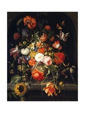 Flowers Giclee Print by Jan van Huysum