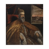 Portrait of Doge Marino Grimani, 1600-25 Giclee Print by Jacopo Robusti Tintoretto