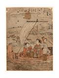 Yabase No Kihan Giclee Print by Isoda Koryusai