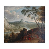 Landscape with Banditti in Ambush Giclee Print by Jan van Huchtenburgh