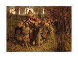 The Pied Piper of Hamelin, 1881 Giclée-Druck von James Elder Christie
