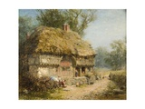 Near Stratford-On-Avon Giclee Print by James John Hill