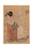 Wakanaya Uchi Shiratsuyu Giclee Print by Hosoda Eishi