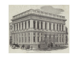 Exterior of the Army and Navy Club-House, Pall-Mall Giclee Print by J.l. Williams