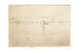 Long Lagoon from The Second Venice Set, 1879-1880 Giclee Print by James Abbott McNeill Whistler