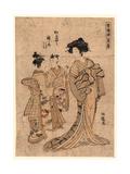 Rakugan Matsubaya Somenosuke Giclee Print by Isoda Koryusai