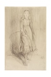 Florence Leyland, 1873 Giclee Print by James Abbott McNeill Whistler