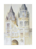 Main Entrance of the Natural History Museum, London, Daytime, 1994 Giclee Print by Izabella Godlewska de Aranda